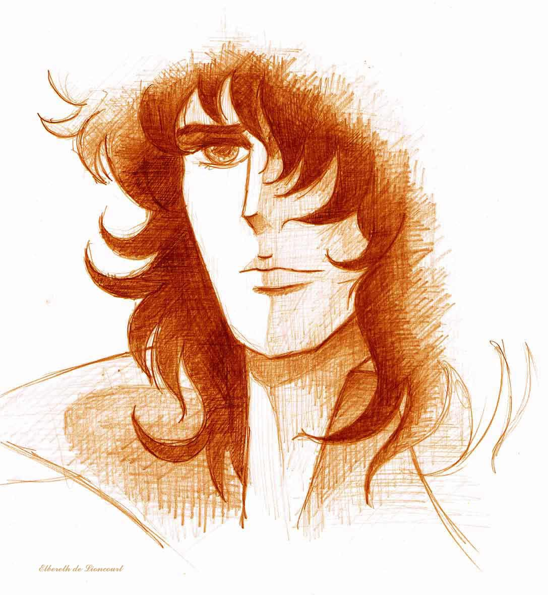 The Rose Of Versailles Episode 40: Fanart Lady Oscar : André
